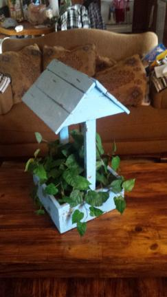 Emery County Ut Wishing Well Flower Planter