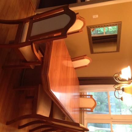 Oak Dining Room Set For Sale In Monmouth County NJ
