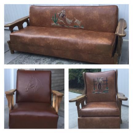 Incroyable Western Vintage Cowboy Furniture For Sale In Rock Springs WY